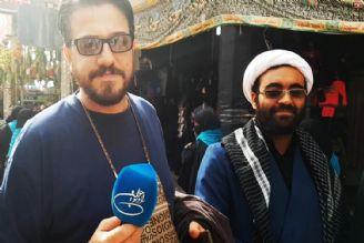 گفتگو با زائران جوان اربعین (ویدیو)