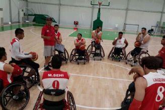 گفتگوی شکوفه موسوی با تیم ملی بسکتبال با ویلچر بعد از بازی با آلمان در ریو