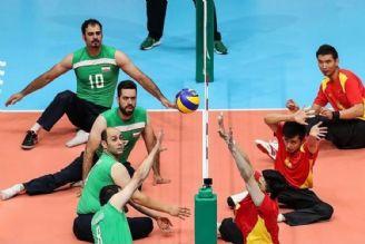 تاریخچه ی والیبال نشسته در ایران