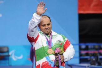 علی صادق زاده برنز در دسته 107 کیلوگرم سوم شد