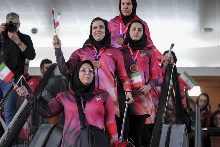 استقبال از قهرمانان مسابقات پاراآسیایی