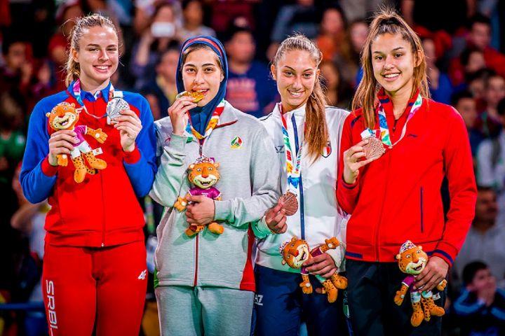 مدال آوران ایران در المپیک جوانان بوینس آیرس