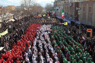 بازتاب حضور مردم در 22 بهمن