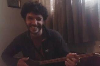 ایوان گرمن فرانسوی ، نوازنده ی تنبور ایرانی در #شیرین_بیان#