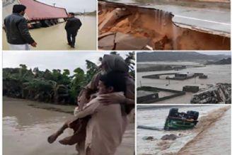 400 روستا درسیستان و بلوچستان در محاصره آب