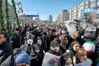 حضور میلیونی مردم در راهپیمایی 22 بهمن
