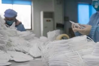 10 تا 12 میلیون ماسک در کشور روزانه تولید میشود