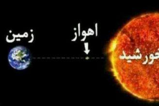 دمای اهواز به 60 درجه سانتیگراد می رسد