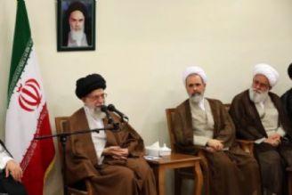 دیدار دستاندركاران كنگره قرآن و علوم انسانی با رهبر انقلاب