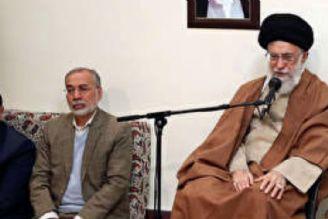 رهبر انقلاب در دیدار با تعدادی از خانوادههای شهدا: