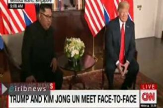 در سنگاپور؛ دیدار ترامپ با كیم جونگ اون