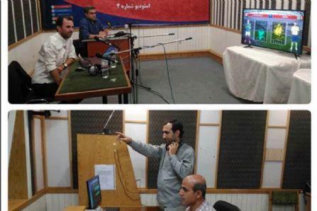 استودیو شماره دو رادیو ورزش پخش اینترنتی بازی های همزمان جام جهانی