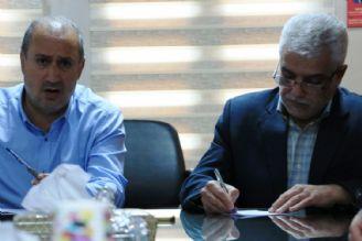 نشست مشترک رئیس فدراسیون فوتبال و مدیر شبکه رادیویی ورزش