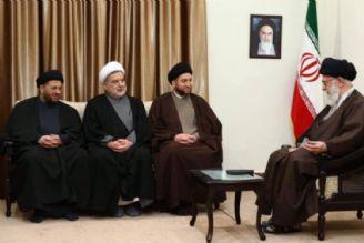 دیدار رئیس ائتلاف ملی شیعیان عراق با رهبر انقلاب