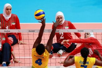 والیبال نشسته در مسابقات جهانی هلند