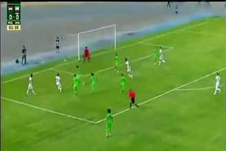 گل دیدار دوستانه فوتبال امید ایران - عراق