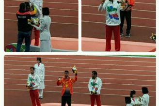 بازی های پاراآسیایی - جاكارتا دوومیدانی.مدال نقره و برنز