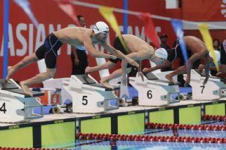 بازی های پاراآسیایی جاكارتا 2018 شنا.مدال نقره