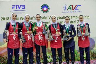 تیم ملی والیبال زنان ایران مسابقات انتخابی جهان- مالدیو