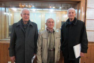 سیف الله اسکندری، عباس لک و سرهنگ ریحانیان پور پیشکسوت کوهنوردی