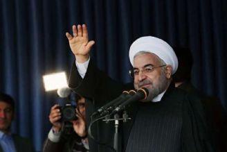ورود رئیس جمهور به گلستان