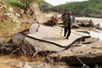 در گفتگو با خبرگزاری صدا و سیما؛ استقرار پلهای شناور در جادههای تخریب شده