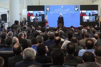 آقای روحانی در مراسم افتتاح خط 6 مترو تهران:طرحهای توسعهای كشور از افتخارات نظام است