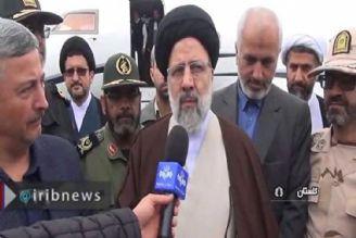 رئیس دستگاه قضا در گلستان؛روحیه جهادی و ایثار در مناطق سیل زده
