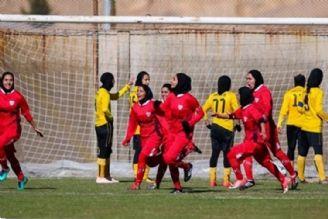 جدال صدرنشین لیگ برتر فوتبال بانوان در سیرجان