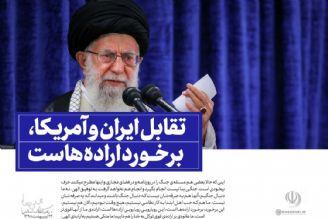 بیانات رهبرانقلاب در دیدار اخیر مسئولان نظام.