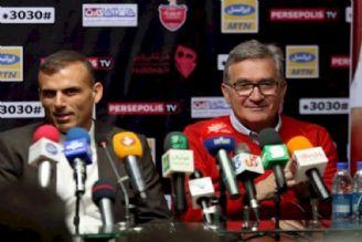 كنفرانس خبری برانكو و سیدجلال حسینی پیش از بازی با السد