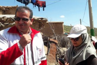 گزارشگر رادیو ورزش در اطلاع رسانی از سیل