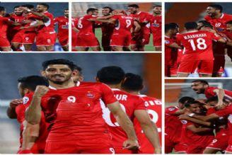 نتایج مسابقات فوتبال لیگ قهرمانان آسیا  برد پرسپولیس