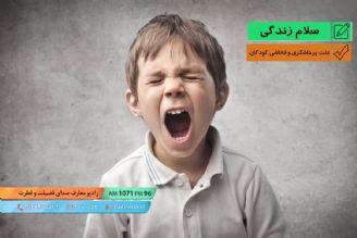 علت پرخاشگری و فحاشی کودکان