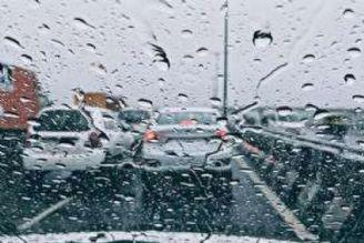 پیش بینی بارش باران در ارتفاعات غربی