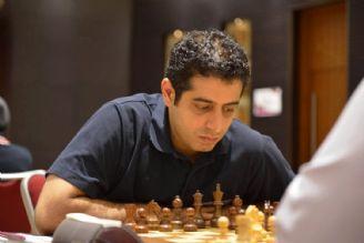 مسابقات شطرنج غرب آسیا؛ قائم مقامی و علی نسب در یك قدمی قهرمانی