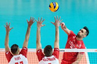 فیلم  خلاصه دیدار تیمهای ملی والیبال ایران و لهستان