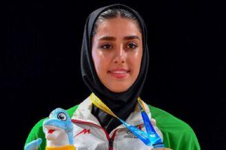 فاطمه صادقی صاحب مدال نقره المپیك ساحلی قطر شد