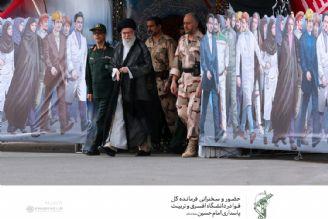 رهبر انقلاب،در مراسم دانشآموختگی دانشجویان افسری دانشگاه امام حسین (ع)