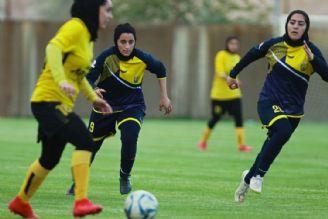 هفته هفتم لیگ برتر فوتبال بانوان دوشنبه برگزار میشود