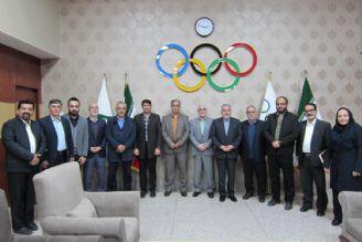 دیدار صمیمی مدیران رادیو ورزش با صالحی امیری رئیس کمیته ملی المپیک