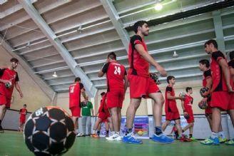 اردوی تیم ملی هندبال بزرگسالان در ایران و تركیه