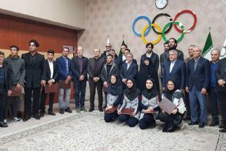 تقدیر از ورزشکاران راه یافته به المپیک 2020