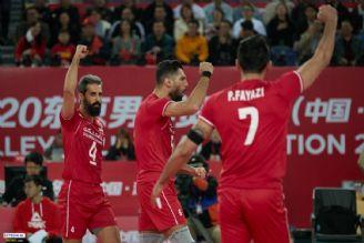 والیبال انتخابی المپیک صعود به المپیک 2020 ایران با عبور از دیوار چین به توکیو رسید