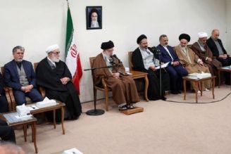 حضرت آیت الله خامنهای در دیدار با مسئولان حج؛ زیر بارِ زور نرفتن ملت ایران، حقیقتی جذاب برای دنیا