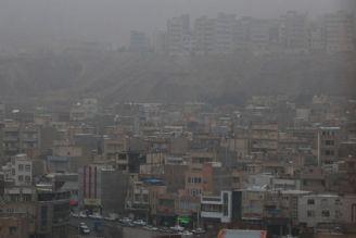 انباشت آلایندهها در تهران و كرج
