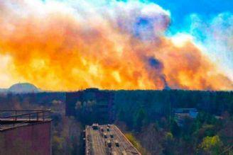 آتش سوزی نیروگاه چرنوبیل ادامه دارد؛ حریق به انبار پسماندهای اتمی رسید