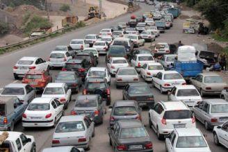 ترافیك نیمهسنگین در محورهای شرق استان تهران