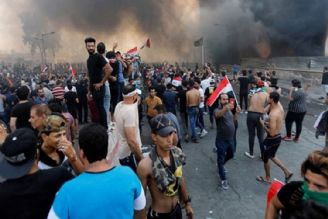 وقوع اعتراضات در چند استان عراق