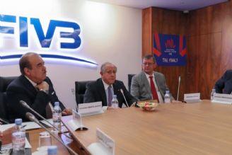 نشست آنلاین كمیسیون مالی FIVB با حضور داورزنی